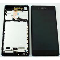 Sony Xperia Z3+ Skärm LCD-Display med ram, Svart