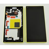Sony Xperia Z5 Compact Skärm LCD-Display med ram, Gul