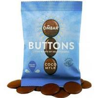 Ombar Rå Chokladknappar Eko 25 g