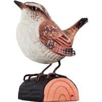 Wild Life Garden Deco Bird Wren Figur