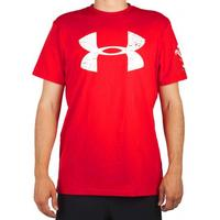 Under Armour Wales Rugby Graphic Herr utbildning skjorta S röd