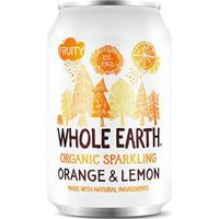 Whole Earth Organic Sparkling Orange & Lemon Drink