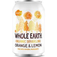 Whole Earth Organic Sparkling Orange & Lemon Drink