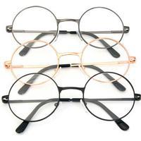 Men Women Resin Round Oval Metal Rim Presbyopic Reading Glasses Vintage Eyeglasses
