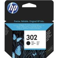 HP HP 302 svart bläckpatron, original 190 sidor F6U66AE