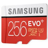 Samsung Evo+ MicroSDXC UHS-I U3 256GB