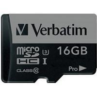 Verbatim microSDHC Pro UHS-I U3 16GB