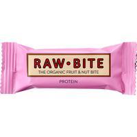 RawBite Protein Frukt & Nötbar Protein 50g
