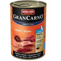 Animonda GranCarno Original Junior - Beef & Kalkunhjerter 6x400 g