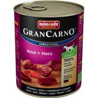 Animonda GranCarno Original Adult - Beef & Duck Hearts 6x800 g