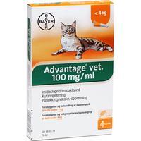 Bayer Advantage Vet Loppemiddel 1.60ml