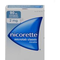 Johnson & Johnson Nicorette Microtab Classic Nicotin 2mg 90pcs Tablet 29stk