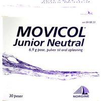 Norgine Movicol Junior Neutral 30stk