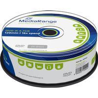 MediaRange DVD-R 4.7GB 16x Spindle 25-Pack