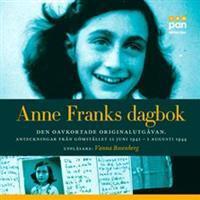 Anne Franks dagbok (Ljudbok nedladdning, 2014)