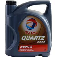 Total Quartz 9000 5W-40 Motorolja