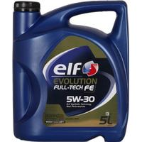 Elf Motor Oil Evolution Full-Tech FE 5W-30