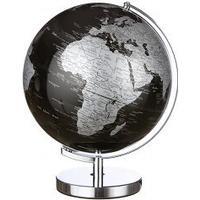 Interstil Globus sort med belysning