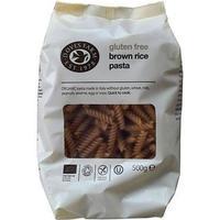 Doves Farm Pasta, Fusilliskruvar brunt ris glutenfri eko - 500 g