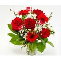 Afskårne Roser stor buket buket blomster - sammenlign priser hos pricerunner