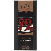 Vivani Mörk Choklad med 92% Kakao