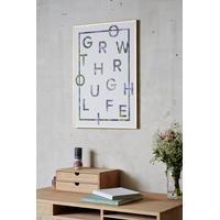 I Love My Type Plakat I Love My Type - Grow Through Life (vælg str.) 50x70 cm