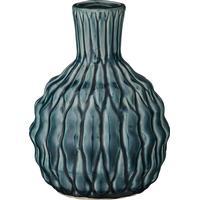 Bloomingville Vas - höjd 16 cm (Mörkegrön Keramik)