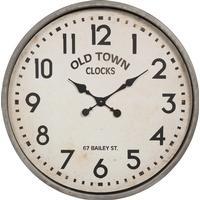 Ib Laursen - Vægur - Hvid - Old Town Clocks