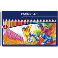 Staedtler Noris Club Crayons In Metal Box