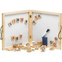 Krea Alfabet Tavle Med Magneter Og Tilbehør