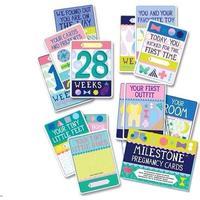 Milestone Pregnancy Cards - English