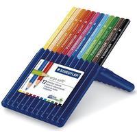 Staedtler Ergosoft Jumbo Triangular Crayons