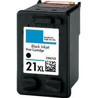 HP 21XL svart bläckpatron 18ml kompatibel HP C9351CE