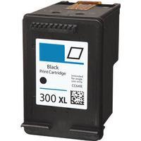 HP 300XL svart bläckpatron 23 ml kompatibel HP CC641EE