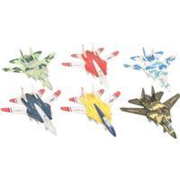 Jagerfly i metal med pull back fra Imagetoys