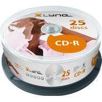 Xlyne CD-R 700MB 52x Spindle 25-Pack