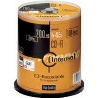Intenso CD-R 700MB 52x Spindle 100-Pack