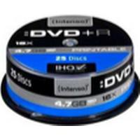 Intenso DVD+R 4.7GB 16x Spindle 25-Pack Inkjet