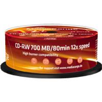 MediaRange CD-RW 700MB 12x Spindle 25-Pack