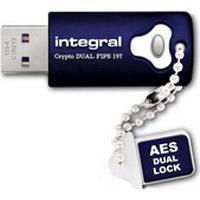 Integral Crypto Dual FIPS197 16GB USB 3.0