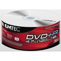 Emtec DVD+R 4.7GB 16x Spindle 50-Pack