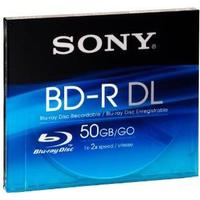 Sony BD-R 50GB 2x Jewelcase 1-Pack