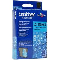 Brother LC1100 XL C (LC-1100HYC) Cyan bläckpatron, Original (10,1 ml)