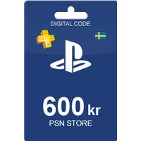 Sony PlayStation Network Card 600 SEK
