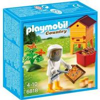 Playmobil Bee Keeper with Honey 6818