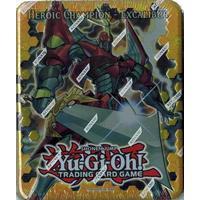 Yu-Gi-Oh, Shonen Jump, Tin, Heroic Champion - Excalibur