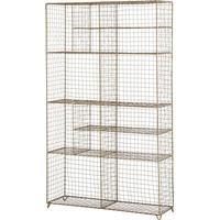 Madam Stoltz Standing Wire Rack Förvaringshylla