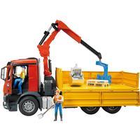 Bruder MB Arocs Lastbil med kran og tilbehør 03651