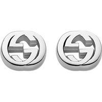 Gucci Interlocking Örhängen - Sterling Silver