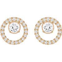 Swarovski Creativity - Rose Gold Plated Earrings w. Crystal S (5199827)
